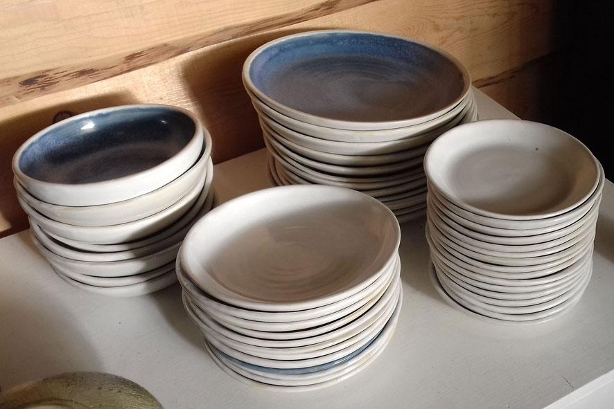 Servizio piatti semplici Ø25-18-15 cm