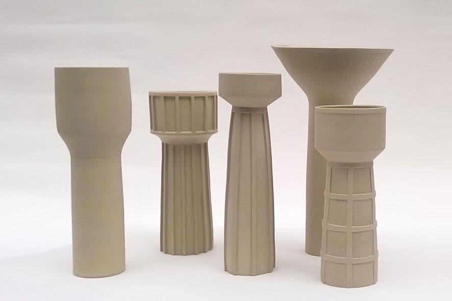 Vasi Cisterna: Gres Stoneware H50 cm x A. Butti 2016