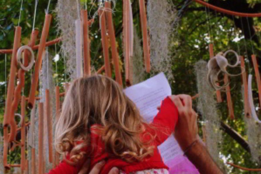 Ventora e Tintinno: Installazione sonora in terracotta e gres Orticolario 2012